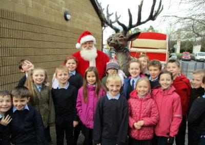 Santa Comes to BMNS