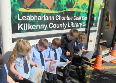 Mobile Library Visit